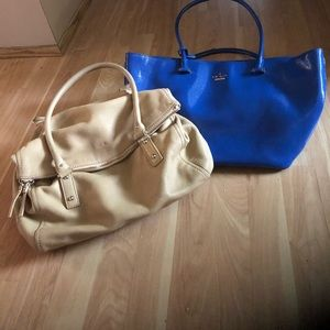 Closet Clearout: Bundle - Kate Spade Blue and Nude